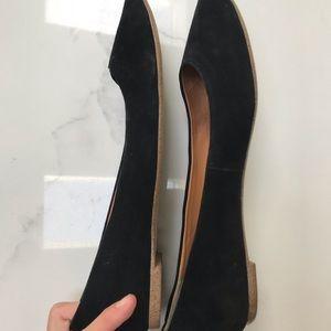 J. Crew Shoes - J. Crew Black Flats